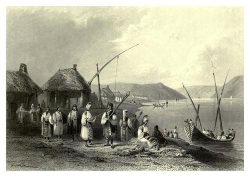 036-Pueblo de Gladova o Kladovo-Serbia 1844