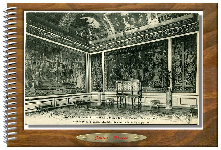 4088. PALAIS DE VERSAILLES  Salon des Reines