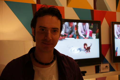EyePet producer Nicolas Doucet