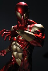 Iron Spider-Man (PowerPee) Tags: statue toys nikon philippines spiderman marvel collectibles sideshowcollectibles ironspidey d700 ironspiderman