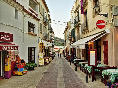 Tossa de Mar, Spain.