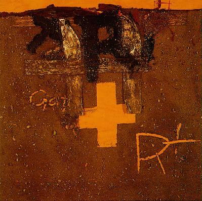 Tapies, Antoni (1923- ) - 1975 Creu I R