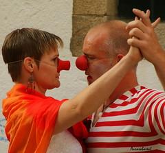 tango.... (@uroraboreal) Tags: fiction espaa expressions tango santiagodecompostela mimicry streettheater farsa expresses mmica teatroderua auroraboreal1