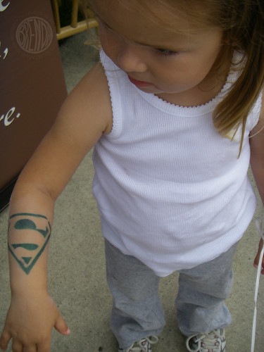 super girl tat