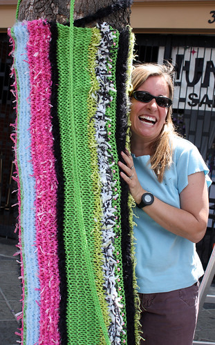SubZERO Festival 09_Yarn Bombing