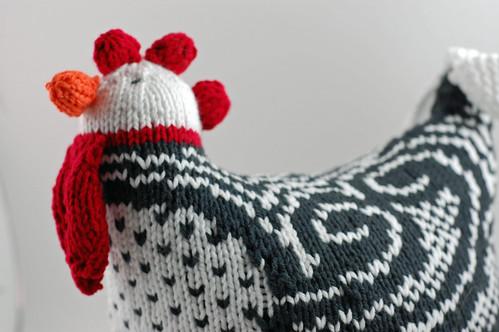 Knitted Chicken 02