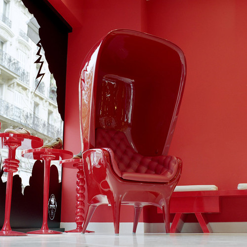 jaime hayon red chair