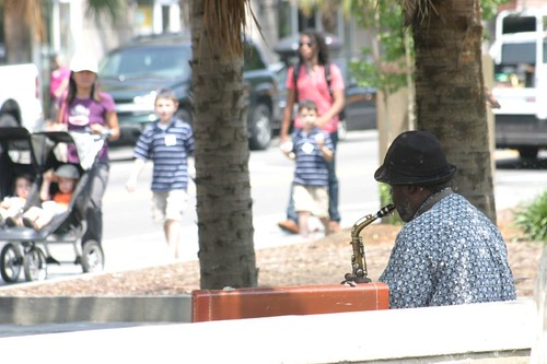 Musician, Charleston - South Carolina.