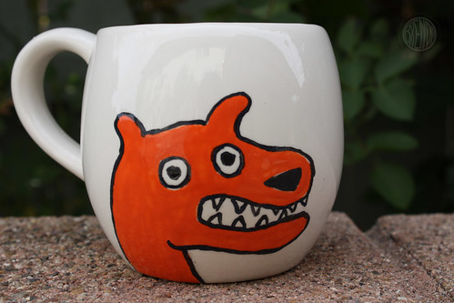 Lefty Dog Mug