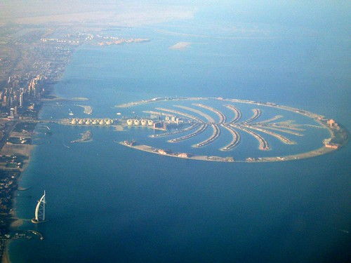 dubai islands map. The man made islands of dubai,
