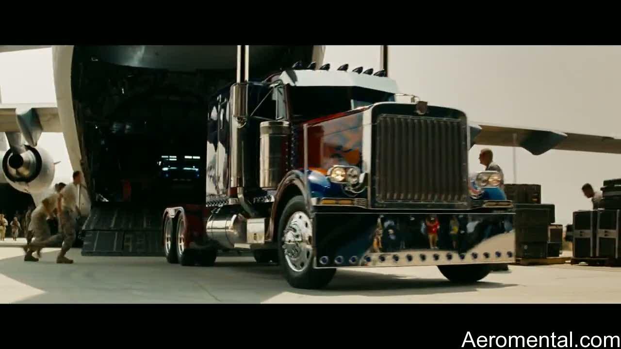 camion optimus prime
