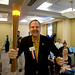 John Naber with Torch