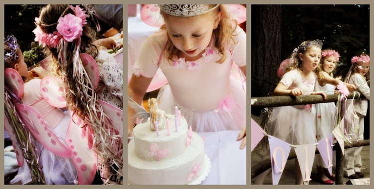 Fairy Princess Birthday Girl