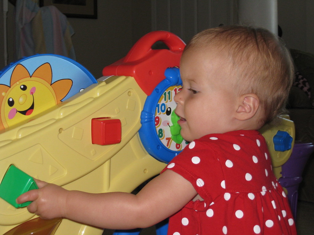 Fun with the Fisher Price Learning House