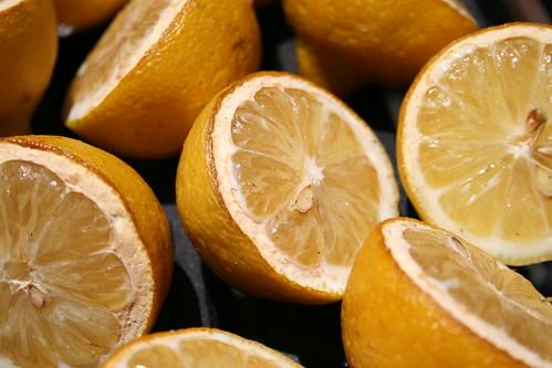 Smoked lemons
