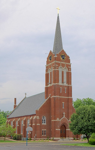 Saint Joseph Roman Catholic Church, in Freeburg, Illinois, USA - exterior