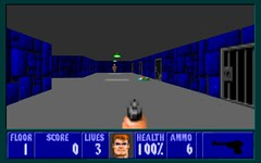 Castle Wolfenstein with JavaScript and HTML5 Canvas (Martin Kliehm) Tags: castle 3d canvas wolfenstein javascript texturemapping html5 standardsnext