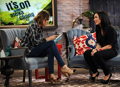 "Alexa Chung and Demi Lovato on MTV's ""It's On With Alexa Chung"" (beastandbean) Tags: tv models mtv shows alexa chung trl talkshows alexachung newshows mtvshows itsonwithalexachung ukimports afternoontalkshows"