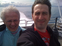 on the Clipper, en route to Canada