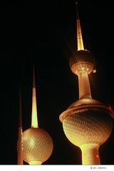 kuwait tower (erwin florentino) Tags: tower seaside pillar landmark shuttle kuwait fishball lightings leasure kwttower