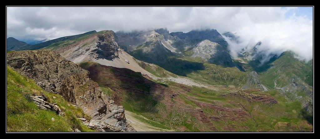 Vistas hacia el norte desde Chipeta Alto
