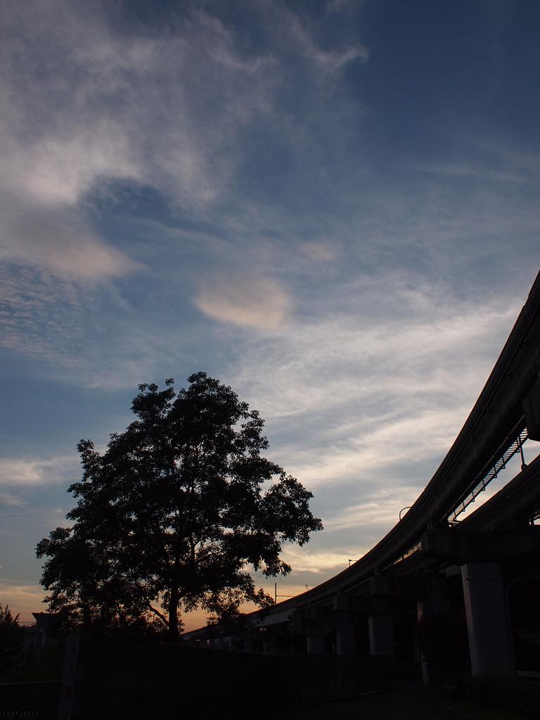 E-P1's snapshot at dusk 1