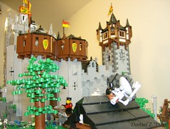 """The Evolution of Hrothingas castle stage 6 (Daniel Z """"DNL"""") Tags: castle lego evolution dnl hrothingas"""