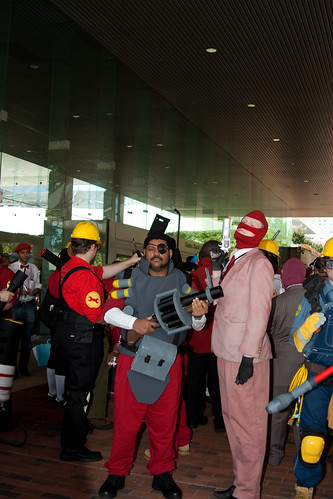 Some of the Team Fortress Team