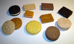 cookie eraser (gomas de borrar) Tags: hello food cute animal toy eraser goma kitty mini sanrio collection kawaii erasers borracha coleccion gomas basauri borrar radiergummi  gommes iwako