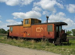 Abandoned CN Caboose (mrchristian) Tags: cn train caboose manitoba