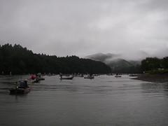 雨の三瀬谷
