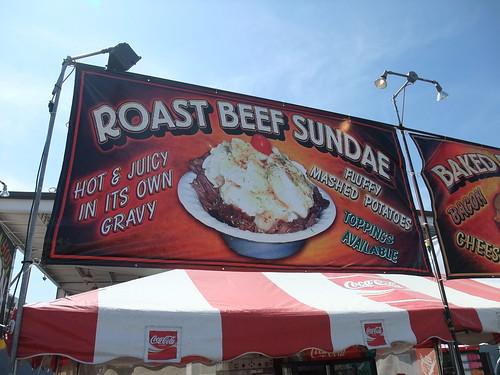 Roast Beef Sundae?