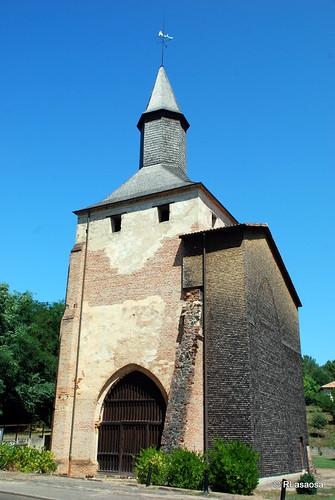Abadía de Mimizan, Landes, France by Rufino Lasaosa