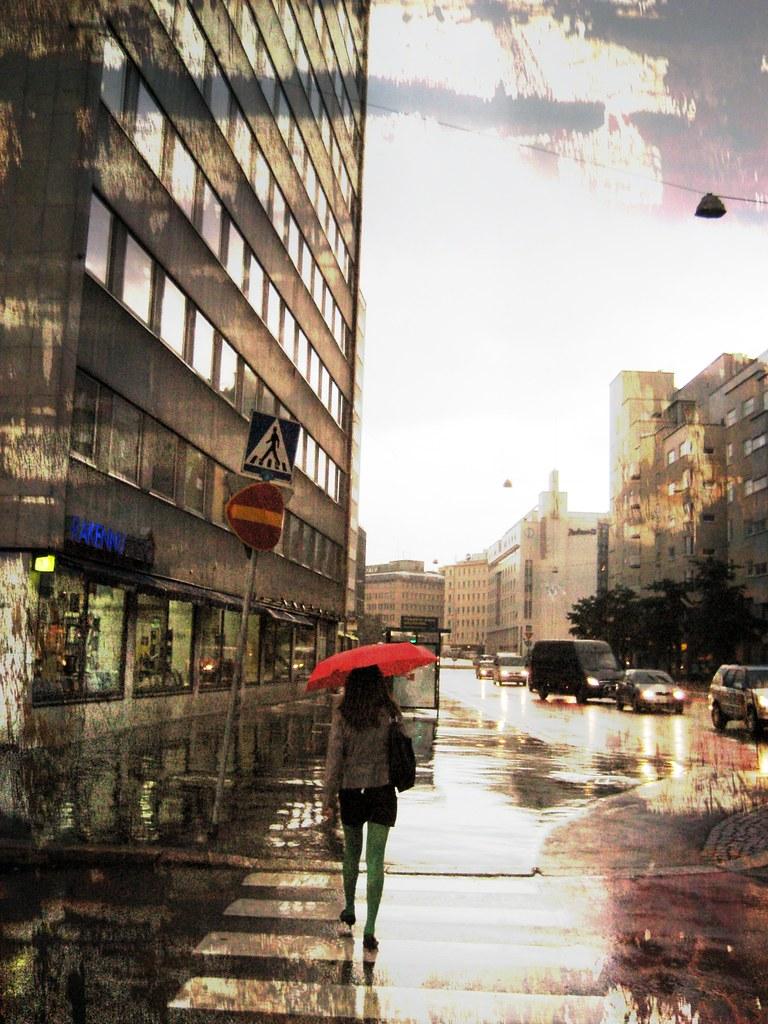 lluvia con textura