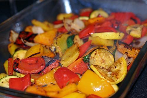 Finished veggies