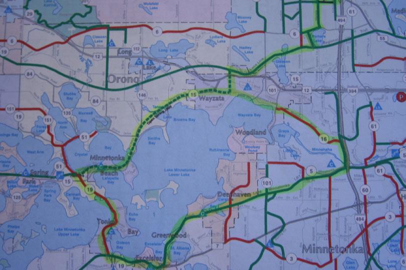 Lake Minnetonka Bike Ride