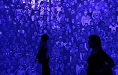 Biennale di Venezia (bata ez) Tags: mostra blue venice shadow people art girl silhouette backlight lights interiors artist colours arte gente stadium blu contemporaryart ombra exhibition arena persone shade installation pavilion luci venezia colori venedig 2009 controluce interni artista giardini ragazza arsenale stadio artwatchers veneto labiennale workofart padiglione biennaledivenezia installazione padiglioni artecontemporanea museumwatchers yourcountry makingworlds faremondi