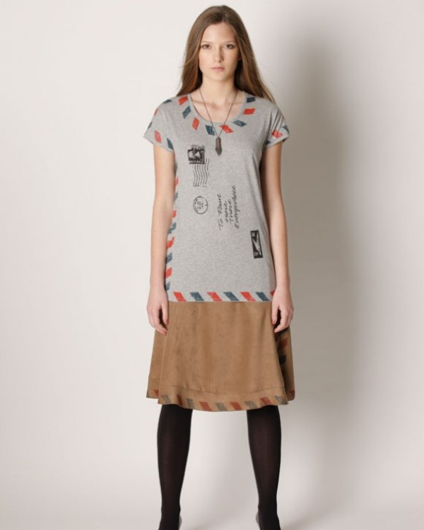 envelope t-shirt and skirt by Daydream Nation