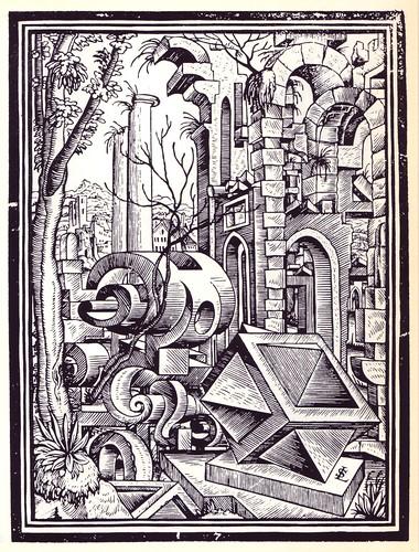 Geometría y Perspectiva - Lorenz STOER de 1567 f