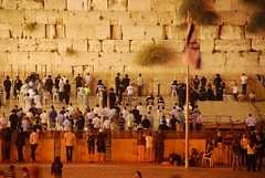 Western Wall Night Praying