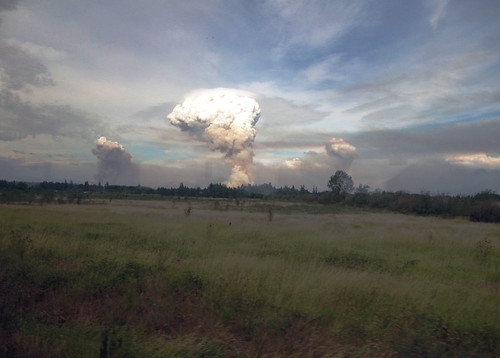 Pyrocumulus Clouds from Cougar Ridge, OR