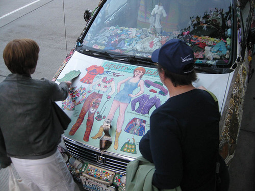 Dress the Beauty on the Art Car