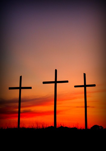 At the cross I bow my knee, where Your blood was shed for me.