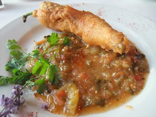 Chili Relleno from Black Creek Bistro