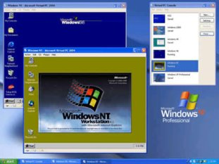 Windows NT no VMWare Player.