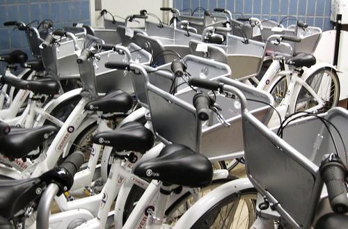 DU's bike lending library fleet