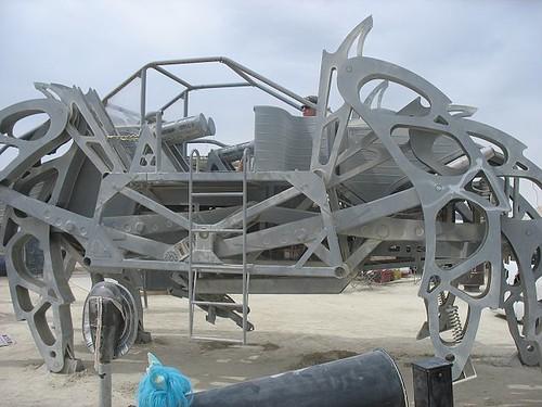 spider art car