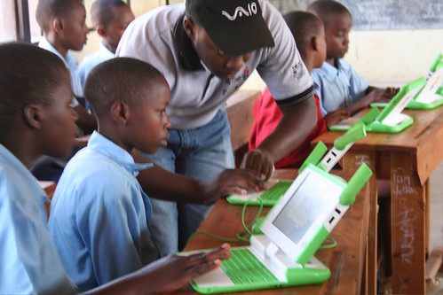 One Laptop Per Child, Kigali by cellanr, on Flickr