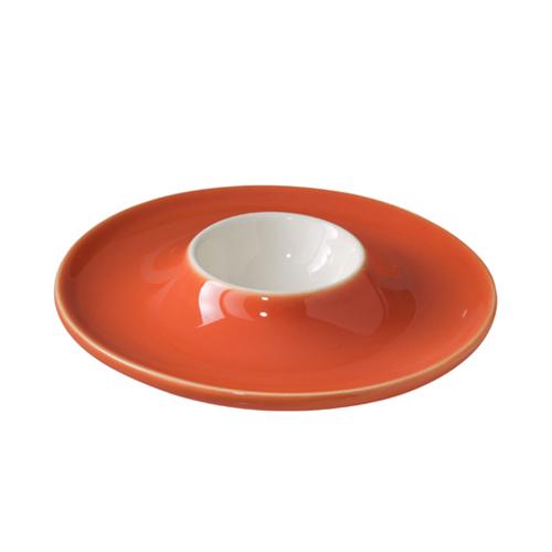 Egg Saucer - Orange