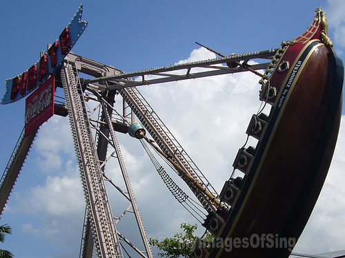 My Images Of Singapore: Viking In Escape Theme Park